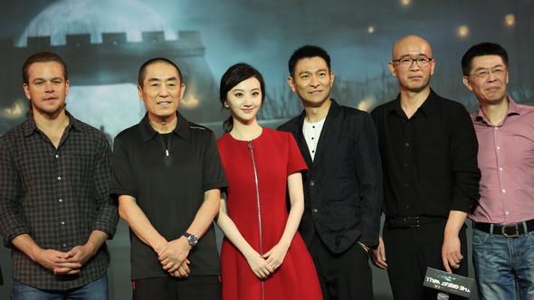 Пресс-конференция нового фильма Чжан Имоу – «Великая китайская стена»