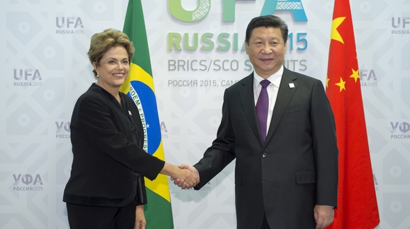 Си Цзиньпин встретился с президентом Бразилии Д. Роуссефф