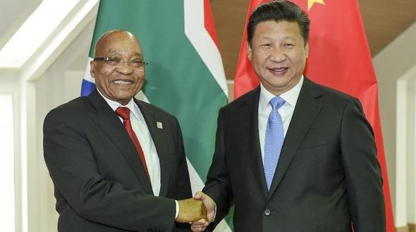 Си Цзиньпин встретился с президентом ЮАР Дж. Зумой