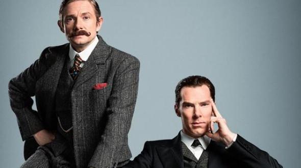 Кадры из английского сериала «Шерлок»