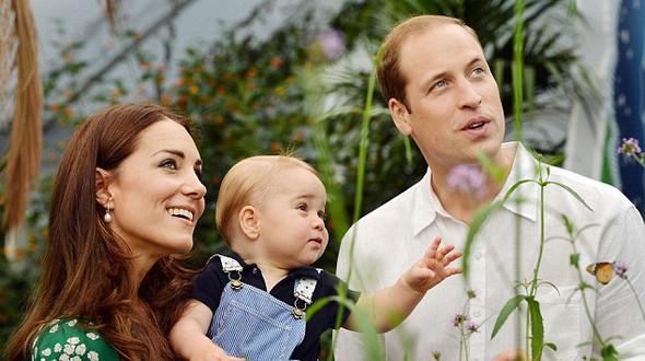 Симпатичный принц Джордж Кембриджский (15 фото)