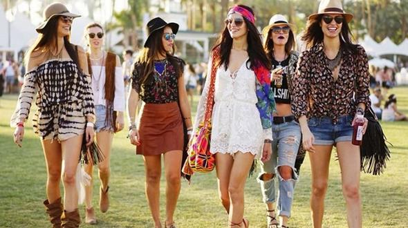Как одеваться на музыкальный фестиваль