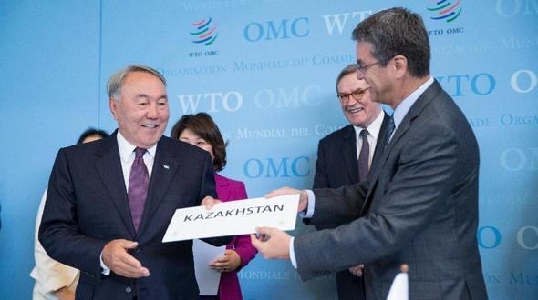 В Женеве подписан договор о вступлении Казахстана в ВТО