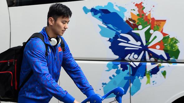 Чемпионат мира по водным видам спорта в Казани: китайские пловцы прибыли на соревнования