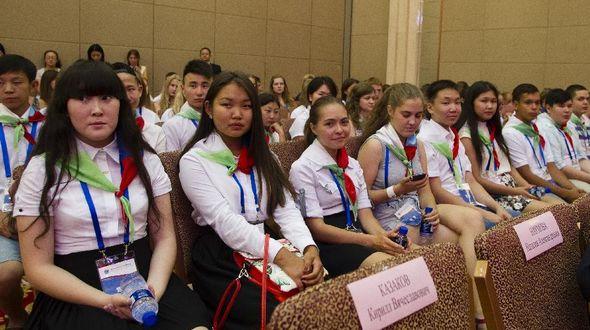 В Пекине состоялась церемония открытия летнего лагеря приехавших в Китай русских школьников