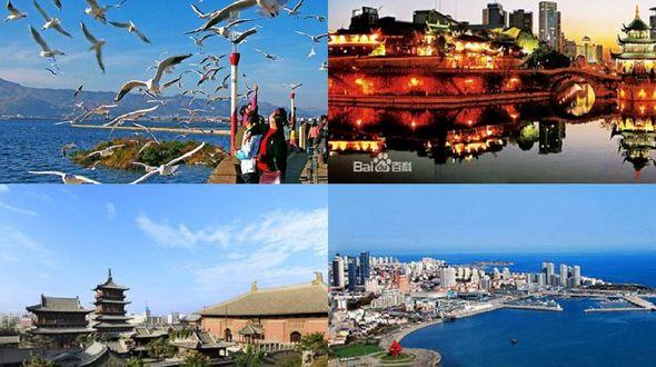 Топ-10 летних курортов КНР в августе