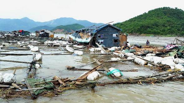 На востоке Китая из-за тайфуна 'Соуделор' погибли 17 человек