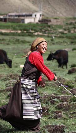 Мероприятие «Поход по дорогам Тибета по случаю 60-летия со дня мирного освобождения Тибета»