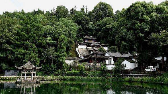 Пейзажный поселок Хэшунь, пров. Юньнань