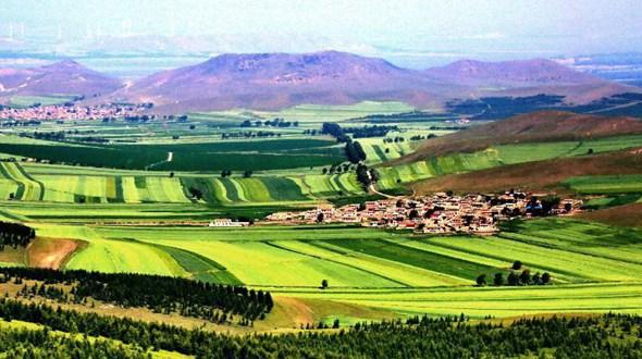 Прекрасные пейзажи района Башан города Чжанцзякоу