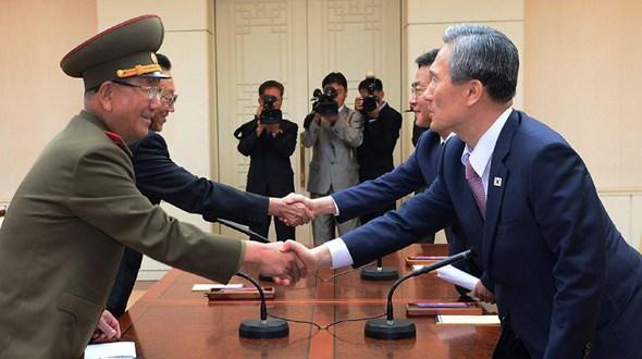 КНДР и РК в ходе диалога на высоком уровне пришли к соглашению из 6 пунктов