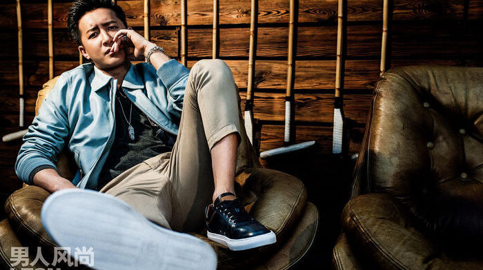 Киноактер Хань Гэн попал на обложку модного журнала