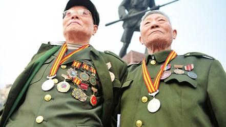 В Параде Победы примут участие ветераны руководимых Компартией Китая войск и гоминьдановских войск