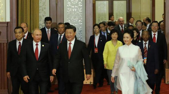 В Пекине прошел прием, посвященный 70-летию Победы в Войне сопротивления китайского народа японским захватчикам и Мировой антифашистской войне