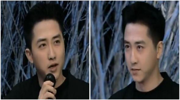 Старые фото: певец Юй Чэнцин в юности