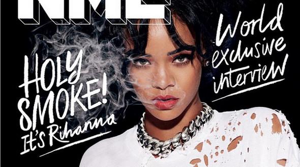 Красавица Рианна на обложке журнала