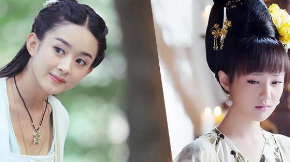 Скриншоты из телесериалов с восходящими актрисами в древних нарядах
