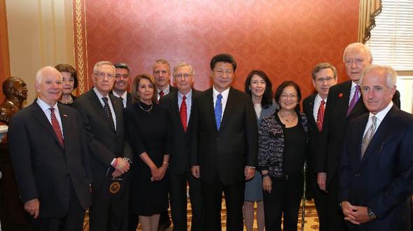 Председатель КНР Си Цзиньпин встретился с лидерами Конгресса США