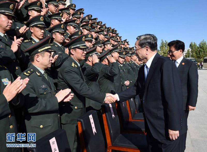 Делегация центрального правительства КНР во главе с Юй Чжэншэном посетила Кашгар Синьцзяна