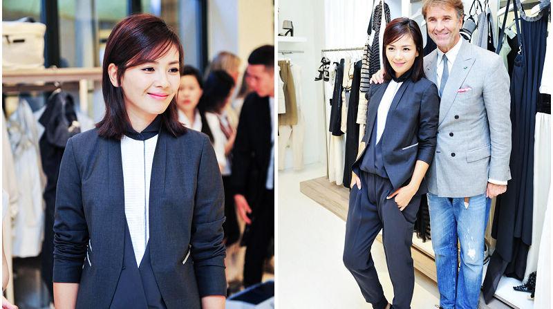 Лю Тао производит впечатление в Недели моды Милан