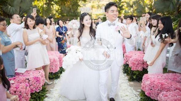 Свадебные фото интернета-предпринимателя Лю Цяндуна