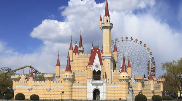 Парк развлечений Шицзиншань в Пекине