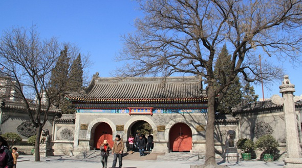 Храм белых облаков (Байюньгуань) в Пекине