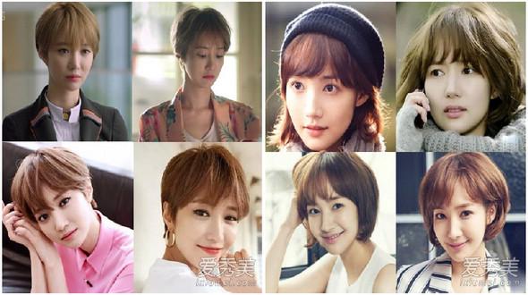 Китайские, японские и южнокорейские актрисы с короткими стрижками