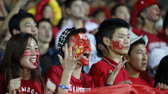 Футбол -- Отборочный раунд ЧМ-2018: Кыргызстан сыграл вничью с Таджикистаном