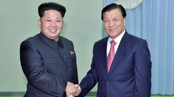 Лю Юньшань передал Ким Чен Ыну официальное послание Си Цзиньпина