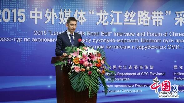 В Харбине стартовал Пресс-тур по «Экономическому поясу сухопутно-морского Шелкового пути провинции Хэйлунцзян» и Медиа-форум с участием китайских и зарубежных СМИ – 2015