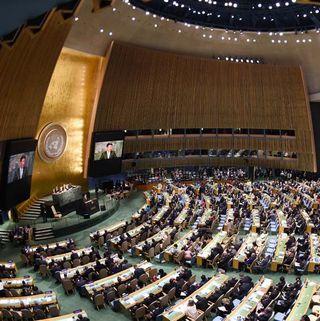 Си Цзиньпин: Китай создаст постоянный контингент в составе 8000 миротворцев для ООН