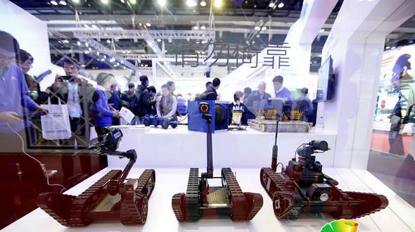 Роботы-антитеррористы на Всемирной конференции по робототехнике-2015