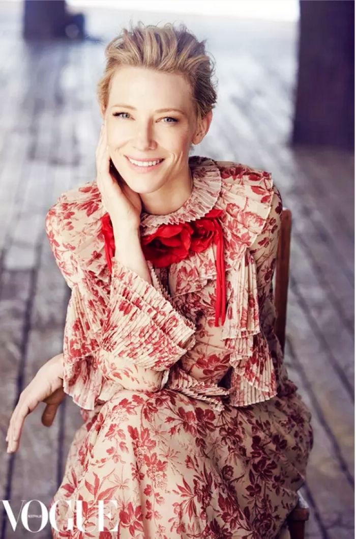 Кейт Бланшетт в модных фото
