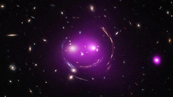 Таинственная улыбка в космосе
