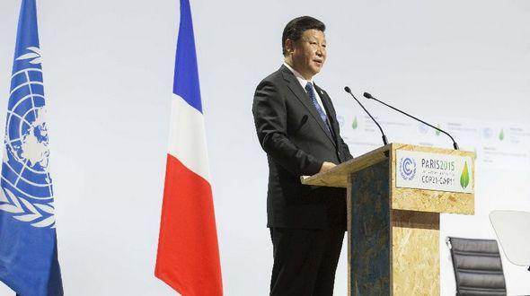 Си Цзиньпин выступил с важной речью на церемонии открытия Климатической конференции в Париже