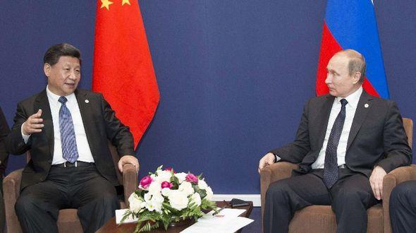 Си Цзиньпин встретился с Владимиром Путиным