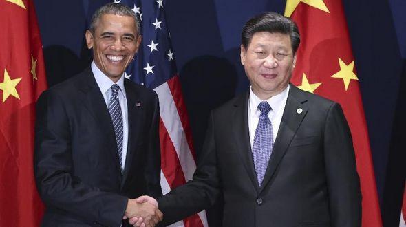Председатель КНР Си Цзиньпин провел встречу с президентом США Бараком Обамой в Париже