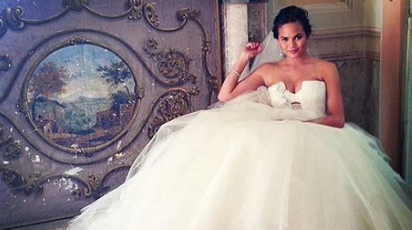 «Звездные» свадебные наряды