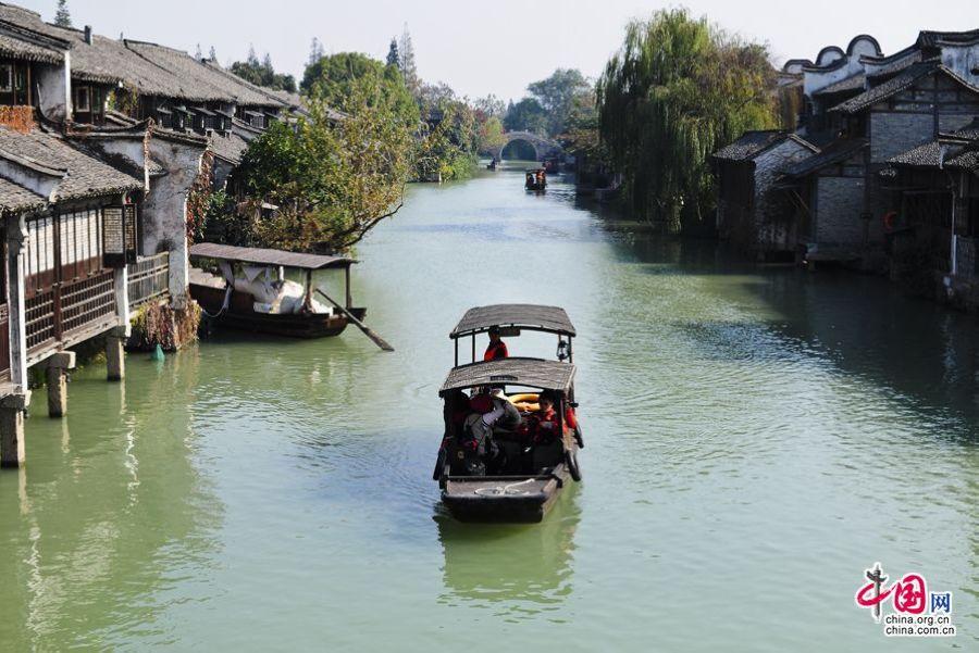 Красивые пейзажи поселка Учжэнь в объективе корреспондента веб-сайта «Чжунгован»