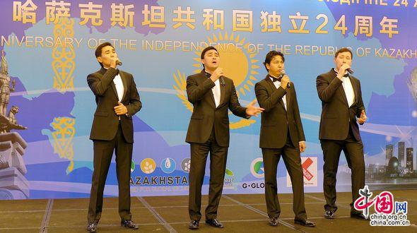 Посольство Республики Казахстан в КНР отпраздновало 24-ю годовщину независимости