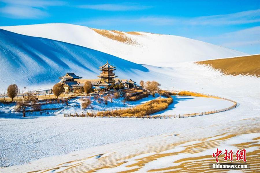 Снежная сказка Дуньхуана