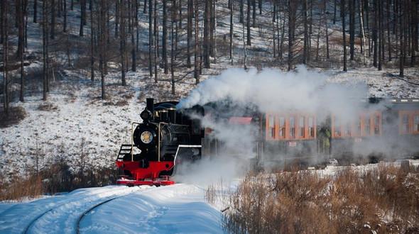 Зимние пейзажи на Большом Хингане