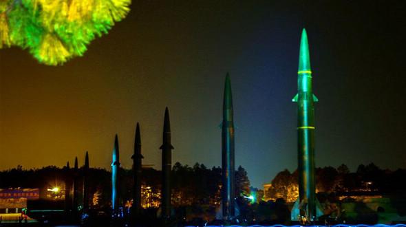 Ночные учения по запуску ракет