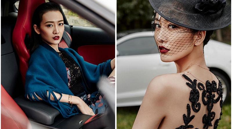Телезвезда Ван Оу в модных снимках