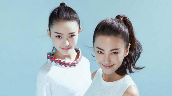 Линь Юнь и Чжан Юйци на обложках журнала