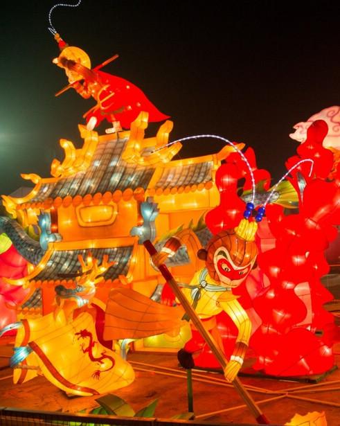 Начинаются мероприятия, приуроченные к празднику Фонарей 2016 года в новом районе развития Сянцзян провинции Хунань