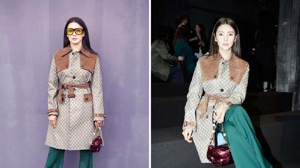 Фото: Стильная актриса Чжан Юйци