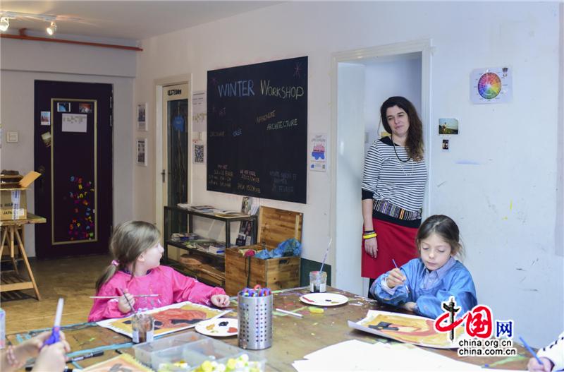 Мариан Даке и ее художественная мастерская «Atelier»