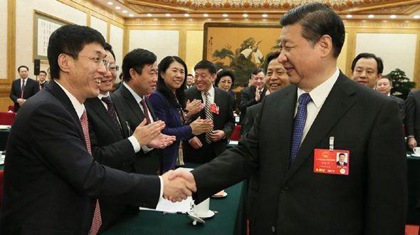 Си Цзиньпин принял участие в заседании делегации провинции Хэйлунцзян в рамках 4-й сессии ВСНП 12-го созыва